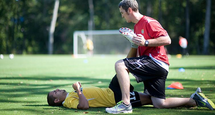 Sport injuries braces